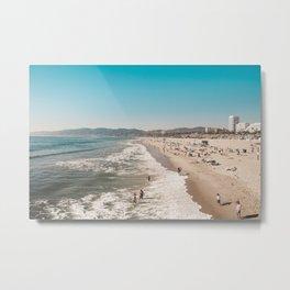 Santa Monica Metal Print