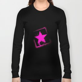star stamp Long Sleeve T-shirt