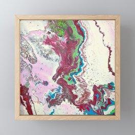 Fluid No. 07 Framed Mini Art Print