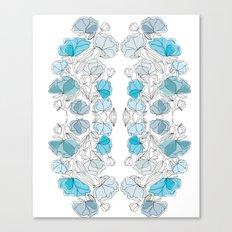 blue perversion Canvas Print