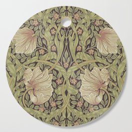 William Morris Pimpernel Art Nouveau Floral Pattern Cutting Board