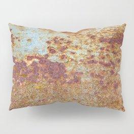 Patterns in Rust Pillow Sham