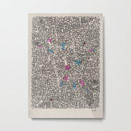 - bloc - Metal Print