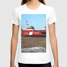Hovercraft on the Beach T-shirt