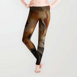 Copper the Havapookie Leggings