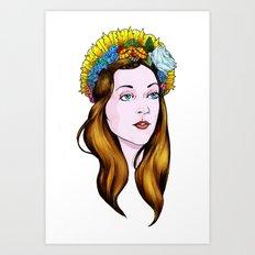 SAINT ANNE Art Print