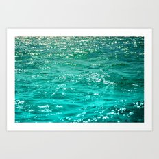 SIMPLY SEA Art Print