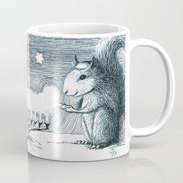 Lighting the Menorah Coffee Mug