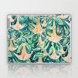 DATURA DREAMS Watercolor Floral Laptop & iPad Skin
