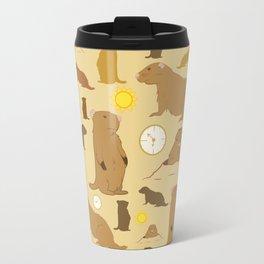 Groundhogs Travel Mug
