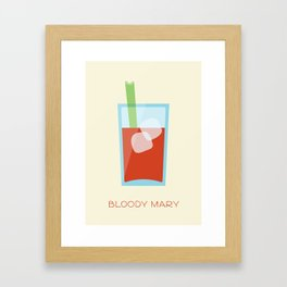 Bloody Mary Framed Art Print