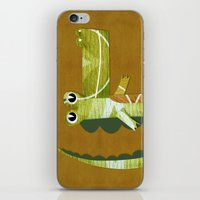 coco iPhone & iPod Skins featuring Coco by Happy Tao
