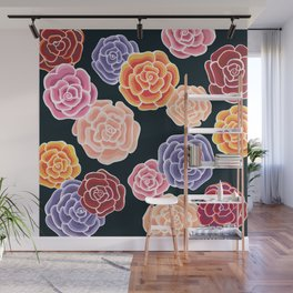 rosy days Wall Mural