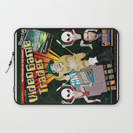Video Game Trader #30 Cover Design Laptop Sleeve