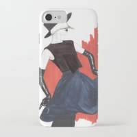 fringe iPhone & iPod Cases featuring Fringe by Sweet Bliss Art