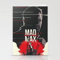 mad max Stationery Cards featuring Mad Max - fury road by FourteenLab