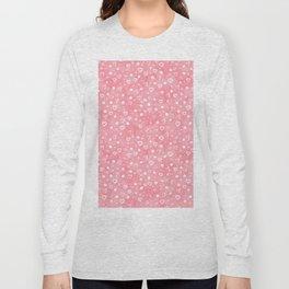 Roses Heart Pattern 01 Long Sleeve T-shirt