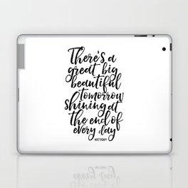 PRINTABLE Art, Quote,Kids Room Decor,Nursery Decor,Quote Prints,Typography Print Walt Laptop & iPad Skin