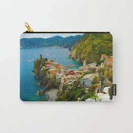Vernazza Italy - Italian Riviera Carry-All Pouch