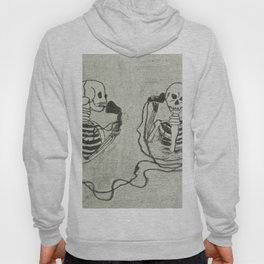 Skeleton's telephone. Hoody