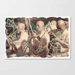 VINTAGE CHANTS Canvas Print