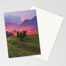 Three Riders Stationery Cards