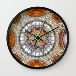 Cathedral Dome Ceiling, Berlin Wall Clock