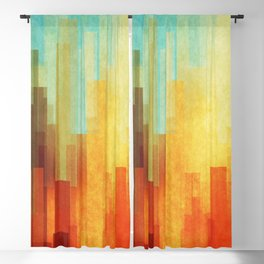 Urban sunset Blackout Curtain