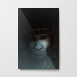 Elijah - Colour Option Metal Print