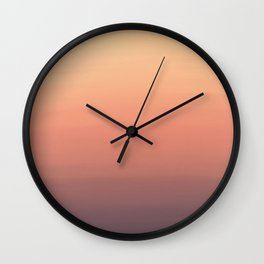 Summer Sunset Wall Clock
