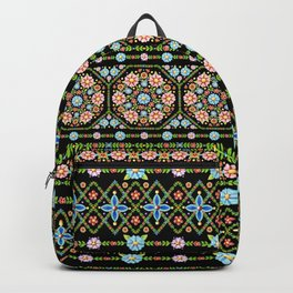 Millefiori Folkloric Stripe Backpack