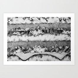 BigMac Art Print