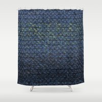 knit Shower Curtains featuring Knit  by SarahKdesigns
