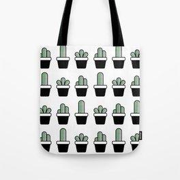 Cactus Plants Pattern Tote Bag