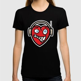 Heart DJ T-shirt