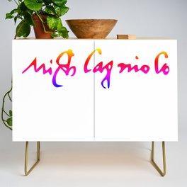 Michelangelo's pride signature Credenza