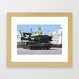 moscow power Framed Art Print