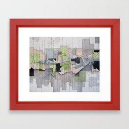 Stream of Consciousness  Framed Art Print