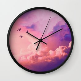 Oil of angels Wall Clock