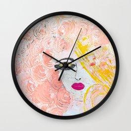 the art of listening Wall Clock