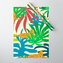 Tigers Rest #society6 #decor #buyart Wrapping Paper