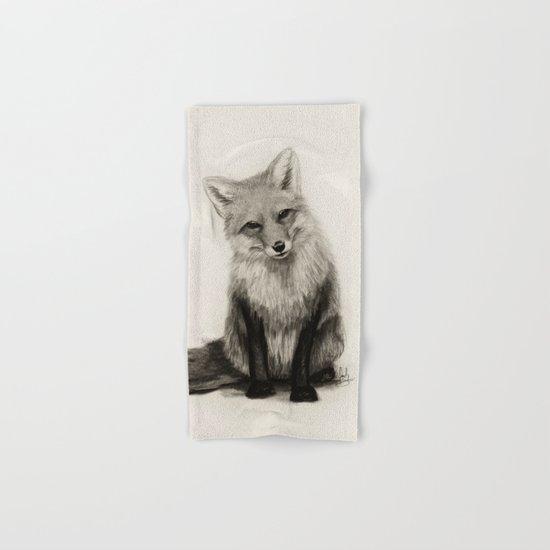 Fox Say What?! Hand & Bath Towel