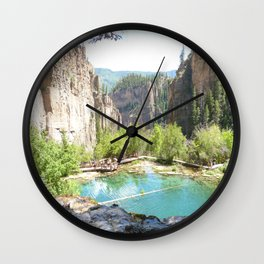Colorful Colorado Wall Clock