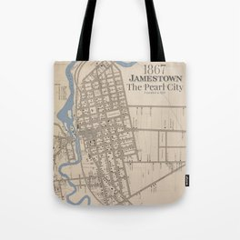 The Pearl City Tote Bag