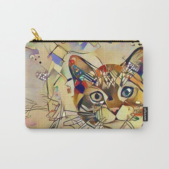 Cat Basil Carry-All Pouch