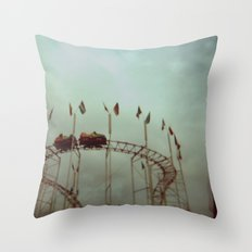 Creepy Carnival  Throw Pillow