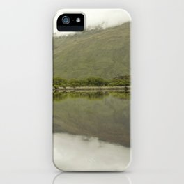 Reflections from Diamond Lake iPhone Case