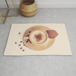 Vintage Coffee Love Photography Rug