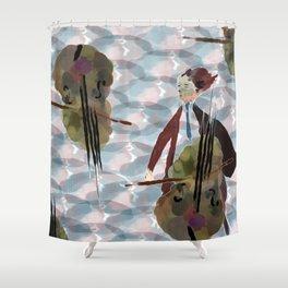 Cellist Shower Curtain