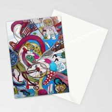 Moon Trike City Stationery Cards